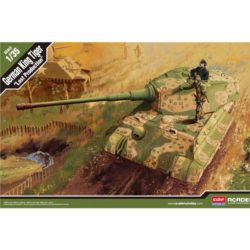 ACADEMY 13229 German King Tiger Last production maqueta escala 1/35