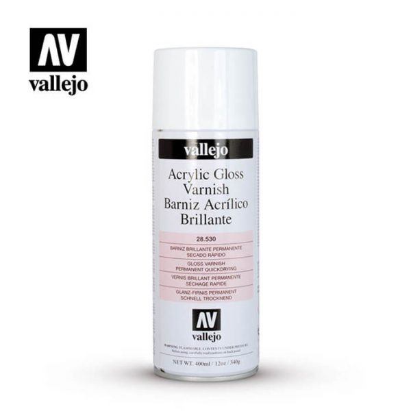 AV 28.530 Vallejo Barniz Acrilico Brillante-Gloss 400ml
