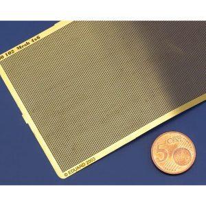 eduard 00102 Mesh - Malla Rectangular calado de 4x6 Malla en metal fotograbado.