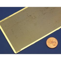 eduard 00103 Mesh - Malla Rectangular calado de 6x6 Malla en metal fotograbado.