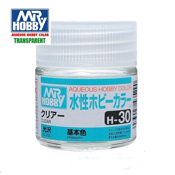 gunze sangyo mr hobby aqueous color H030 Clear-Barniz Brillo 10ml