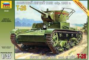 zvezda 3538 T-26 mod 1933