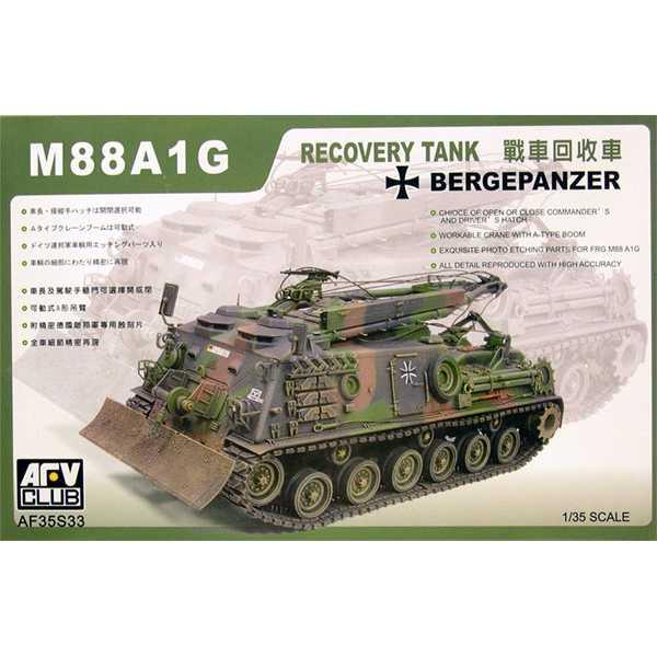 afv club 35s33 M88A1G Bergepanzer Recovery Tank Kit en plástico para montar y pintar. Incluye fotograbados.