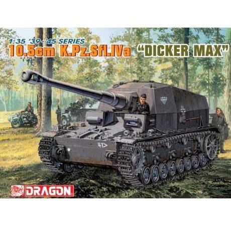 dragon 6357 10,5cm K.Pz.Sfl.IVa Dicker Max