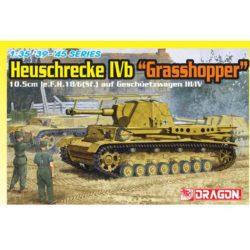 dragon models 6439 Heuschrecke IVb Grasshopper 1/35 Kit en plástico para montar y pintar. Incluye cadenas por eslabones individuales. Piezas 800+