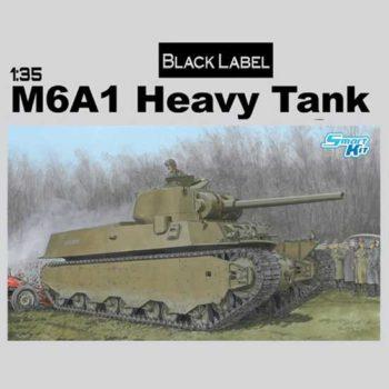 dragon models 6789 M6A1 Heavy Tank