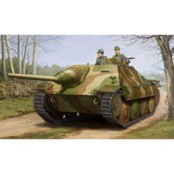 trumpeter 05524 Jagdpanzer 38(t) Hetzer Starr Kit en plástico para montar y pintar. Incluye fotograbado y cadenas por eslabones.