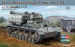 HOBBY BOSS 82907 German Munitionsschlepper Pz.Kpfw. IV Ausf. D/E Kit en plástico para montar y pintar. Escala 1/72