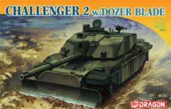 dragon 7285 Challenger 2 w/Dozer Blade 1/72 Kit en plástico para montar y pintar. Incluye fotograbado.