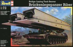revell 03135 Brückenlegepanzer Biber 1/72 Kit en plástico para montar y pintar. Cadenas por tramo y eslabón