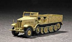 trumpeter 7252 Sd.Kfz.9 Famo 18T Late version maqueta escala 1/72