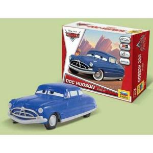 zvezda Disney Cars Doc Hudson Kit de fácil montaje por presión. No necesita pegamento. Incluye pegatinas. Recomendado a partir de 7 años.