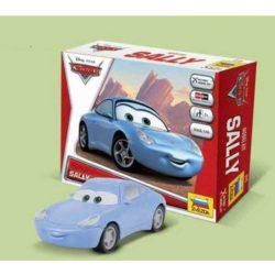 zvezda Disney Cars Sally Kit de fácil montaje por presión. No necesita pegamento. Incluye pegatinas. Recomendado a partir de 7 años.