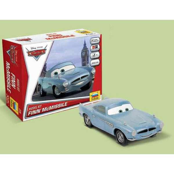 zvezda Disney Cars Finn McMissile Kit de fácil montaje por presión. No necesita pegamento. Incluye pegatinas. Recomendado a partir de 7 años.