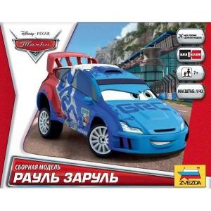 zvezda Disney Cars Raoul Caroule Kit de fácil montaje por presión. No necesita pegamento. Incluye pegatinas. Recomendado a partir de 7 años.