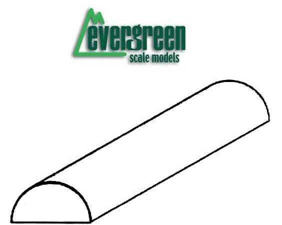 Evergreen Perfil de Media Caña