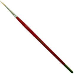 Dismoer Pincel Toray Redondo Serie 375 Pincel de punta redonda y fibra Toray sintética.
