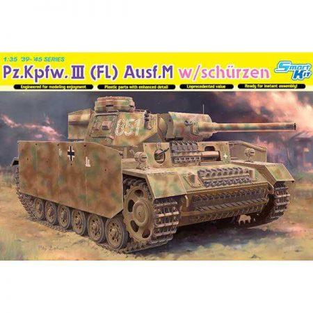 Pz.Kpfw.III (Fl) Ausf.M w/schürzen