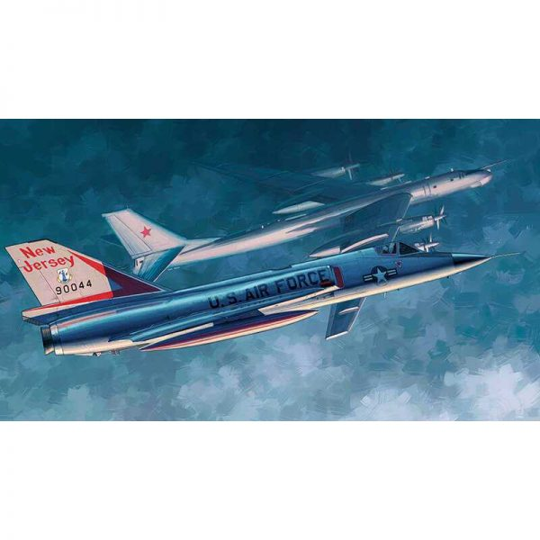 trumpeter 02891 F-106A Delta Dart 1/48 Kit en plástico para montar y pintar. Incluye piezas en fotograbado.