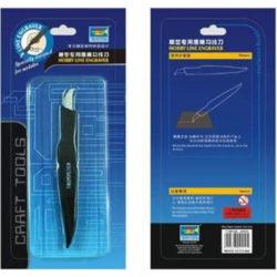 trumpeter master tools 9912 Trumpeter Hobby Line Engraver Grabador de línea de paneles. Una herramienta muy práctica para regrabar las líneas de paneles en las maquetas