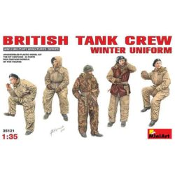 British Tank Crew Winter Uniform miniart 35121