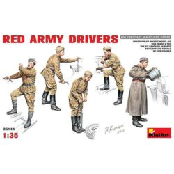 Red Army Drivers miniart 35144