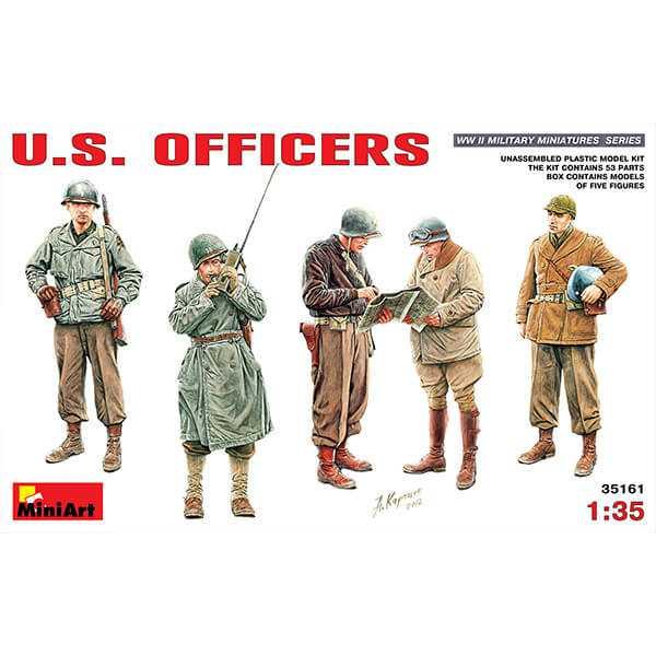 U.S. Officers miniart 35161