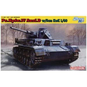 dragon 6736 Pz.Kpfw.IV Ausf.D w/5cm KwK L/60