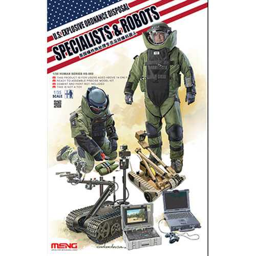 hs 003 US Explosive Ordnance Disposal Specialist & Robots