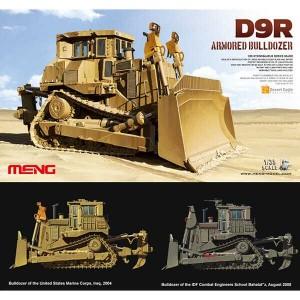 ss-002 meng model D9R ARMORED BULLDOZER