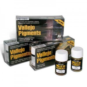 VALLEJO PIGMENTS SET