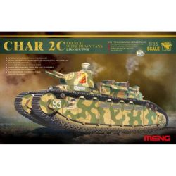 ts-009 meng model CHAR 2C French Super Heavy Tank