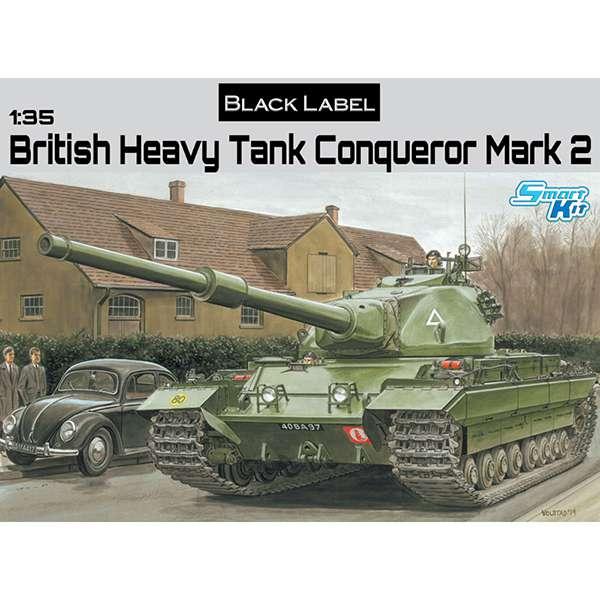 dragon 3555 British Heavy Tank Conqueror Mark 2