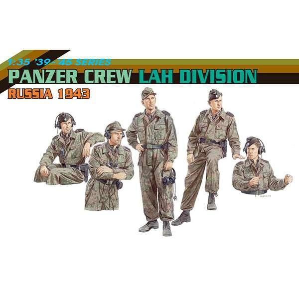 dragon 6214 Panzer Crew LAH Division Russia 1943