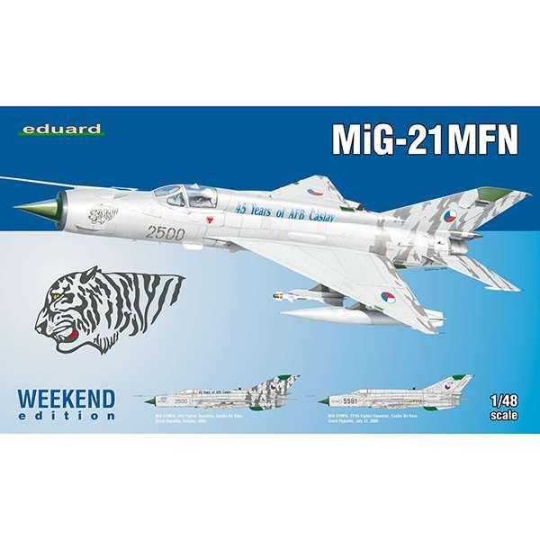 eduard-84128 MIG-21 MFN Weekend Kit