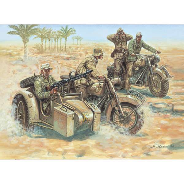 italeri 6121 German Motorcycles WWII