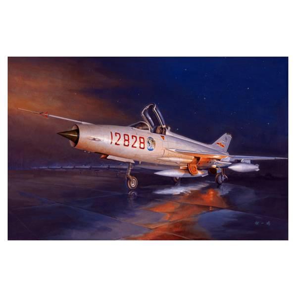 trumpeter 02861 J-7G Fighter