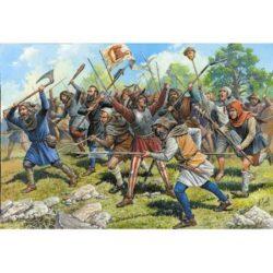 zvezda 8059 Medieval Peasant Army