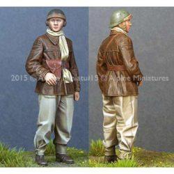 alpine 35196 WW2 French Tank Crew
