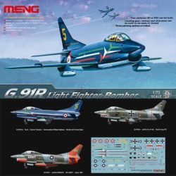 meng models ds-004 G.91R Light Fighter-Bomber