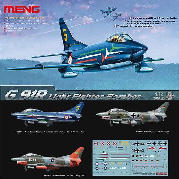 meng models ds-004 G.91R Light Fighter-Bomber