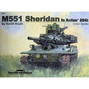 squadron 2041 M551 Sheridan in action Color Series