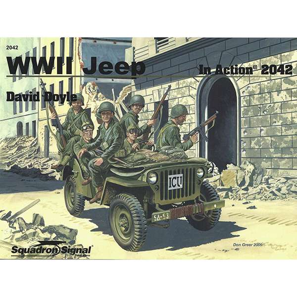 squadron 2042 WWII Jeep In Action