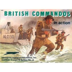 squadron 3008 British Commandos in action