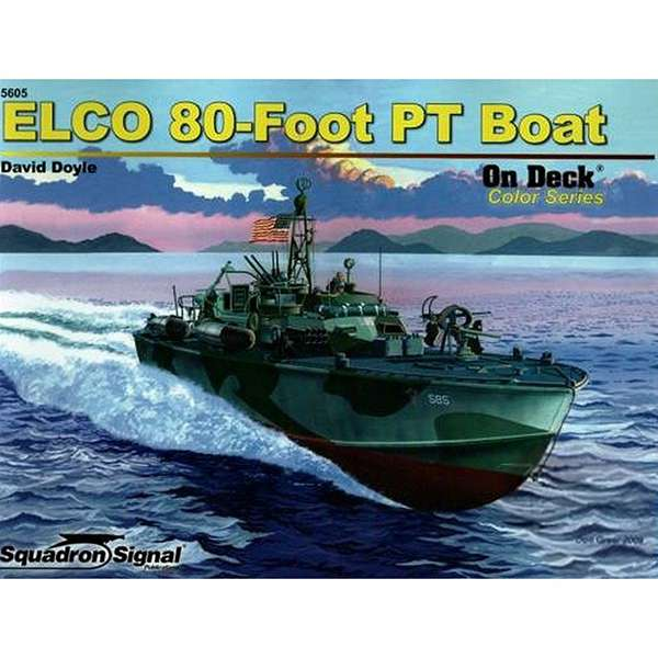 squadron 5605 ELCO 80-Foot PT Boat