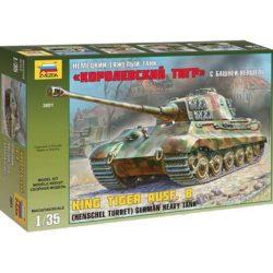 Zvezda 3601 King Tiger Ausf.B Henschel Turret