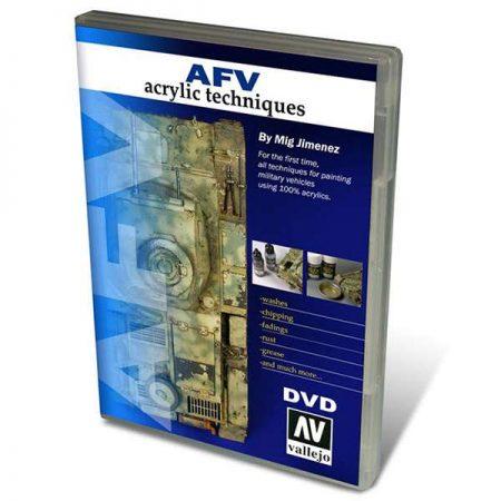 acrylicos vallejo 75000 dvd AFV Acrylic Techniques