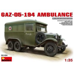 miniart 35164 GAZ-05-194 AMBULANCE