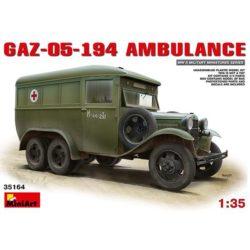 miniart 35164 GAZ-05-194 AMBULANCE
