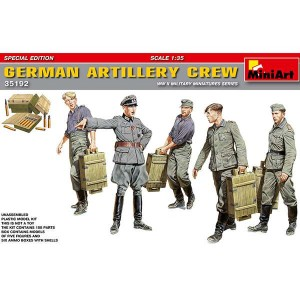 miniart 35192 German Artillery Crew